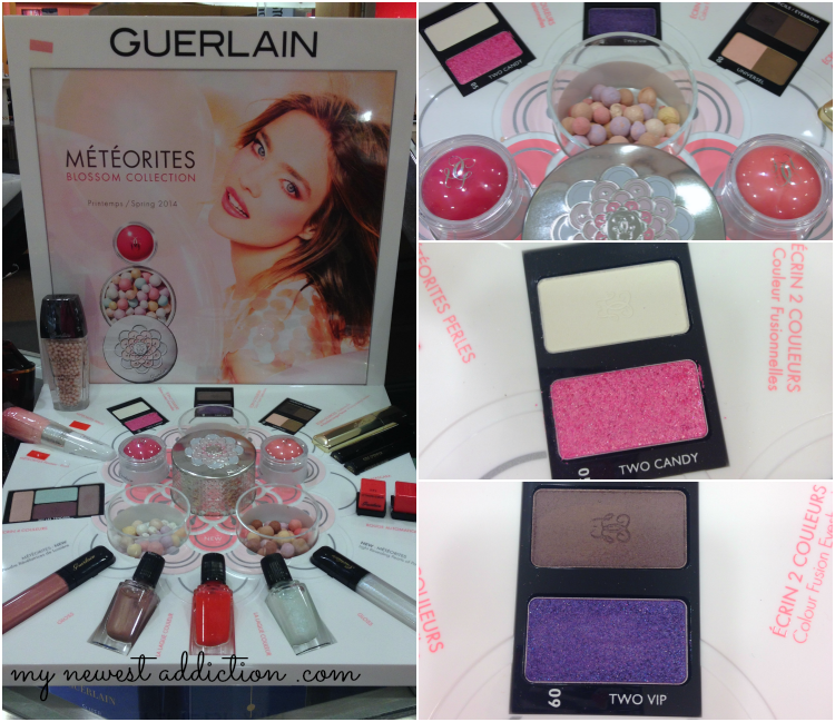 Guerlain Meteories Blossom Collection Spring Makeup Beauty Bubble Blush