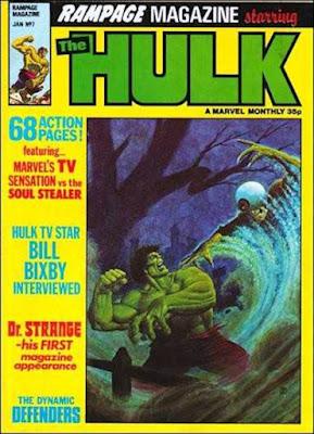 Rampage #7, the Hulk