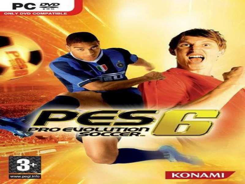 Download PES Pro Evolution Soccer 6 Game PC Free on Windows 7,8,10