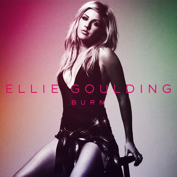 Ellie Goulding - Burn - Single Cover
