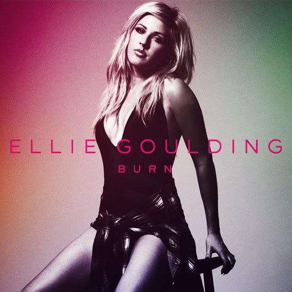 Ellie Goulding - Burn - Single Cover