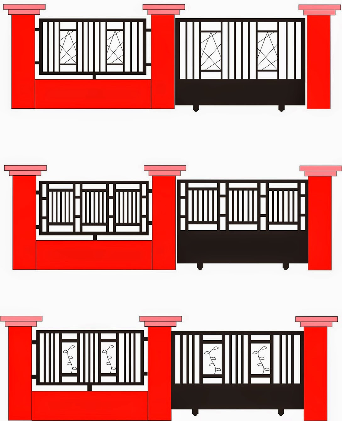 Pagar Hollow Minimalis : pagar, hollow, minimalis, Menghitung, Pagar, Hollow