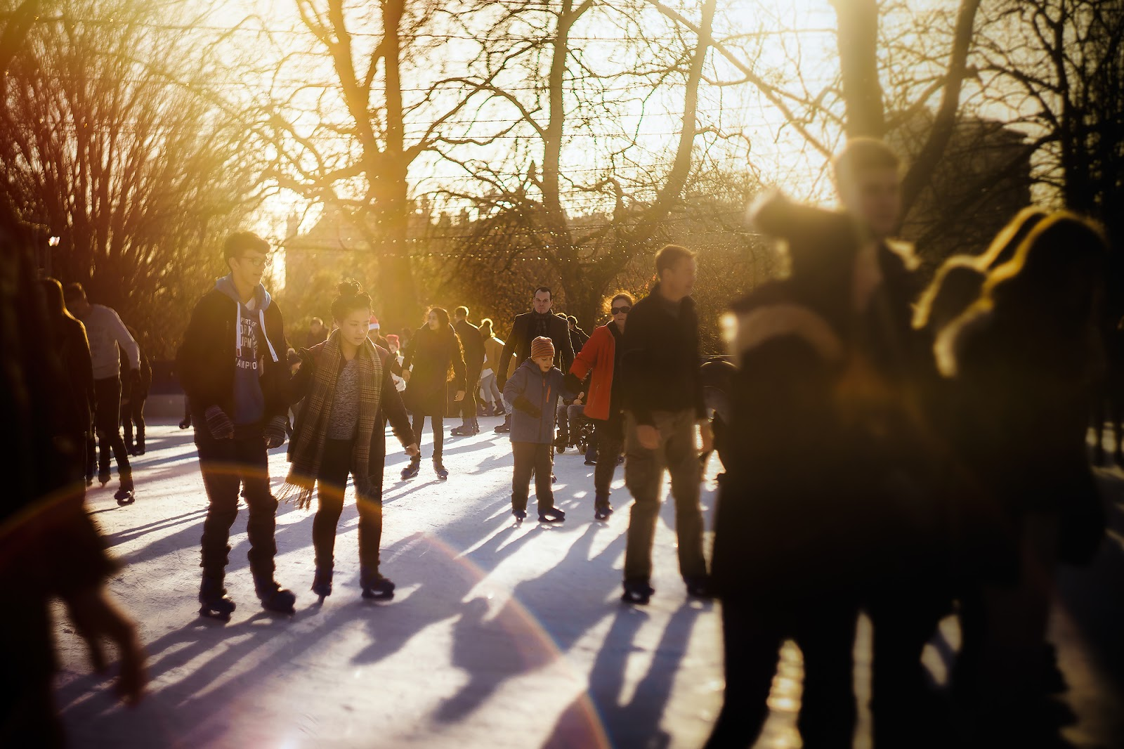 Image of winter wonderland at hyde park captured with Helios 44 Sony A7II in London by Willie Kers