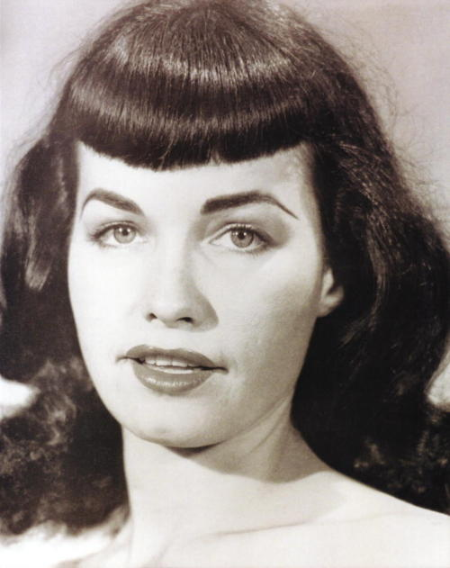 Betty Page Photos: A Classic Vintage Hairstyle