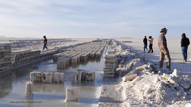 Salt Blocks, Salar de Uyuni, Bolivia