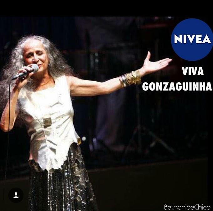 Fãs se organizam e pedem que Nívea faça 'Bethânia canta Gonzaguinha'