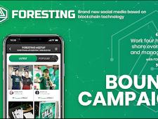 FORESTING: Media Sosial Baru Berdasarkan Blockchain Teknologi