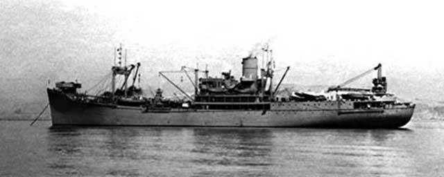 Seaplane tender USS Tangier, 26 December 1941 worldwartwo.filminspector.com