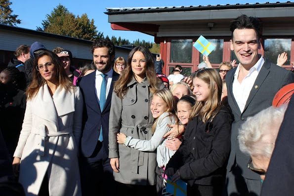 Princess Sofia And Prince Carl Philip Attended The Opening Of 'Sports Without Borders'