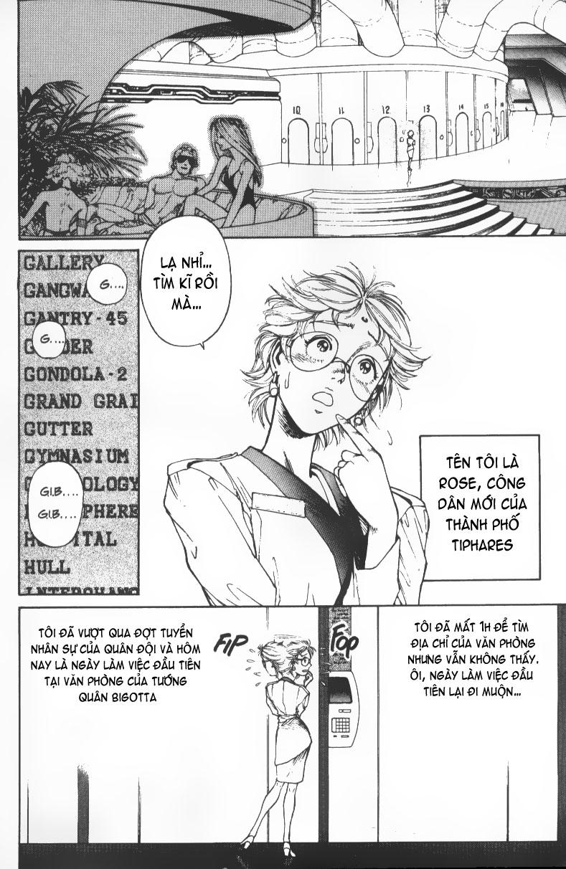 Battle Angel Alita chapter 36 trang 4