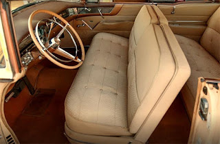 1956 Cadillac Coupe DeVille Seat Front