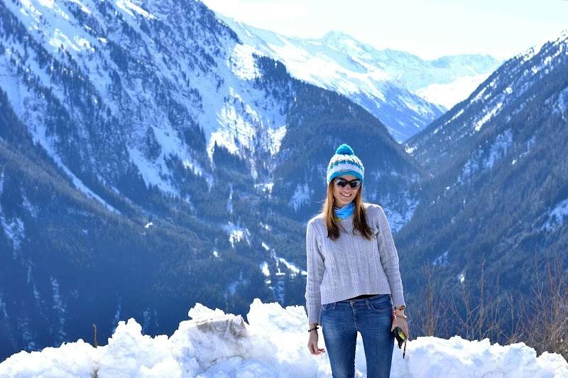 На сноуборд в Майерхофен, Австрия