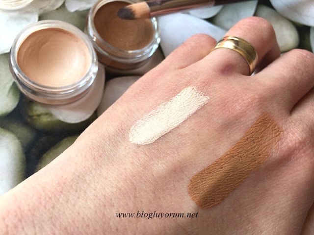 the balm time balm concealer kapatıcı lighter than light dark swatch