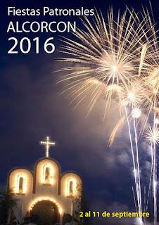 Cartel Fiestas Alcorcon 2016
