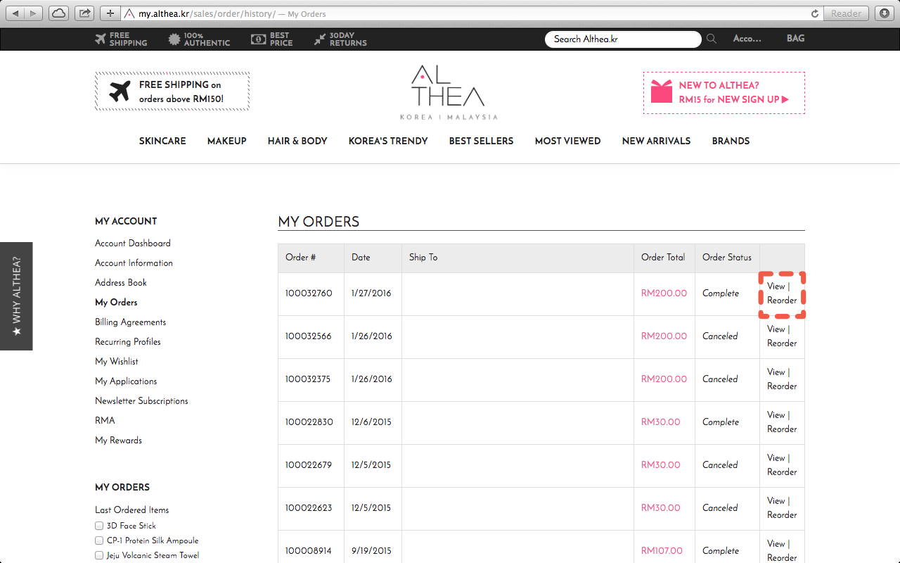 Faq How To Track Your Althea Shipment
