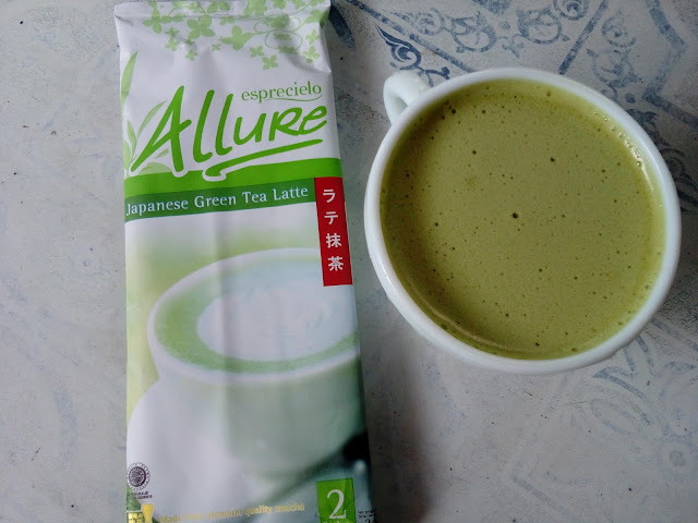 Allure Green Tea Latte