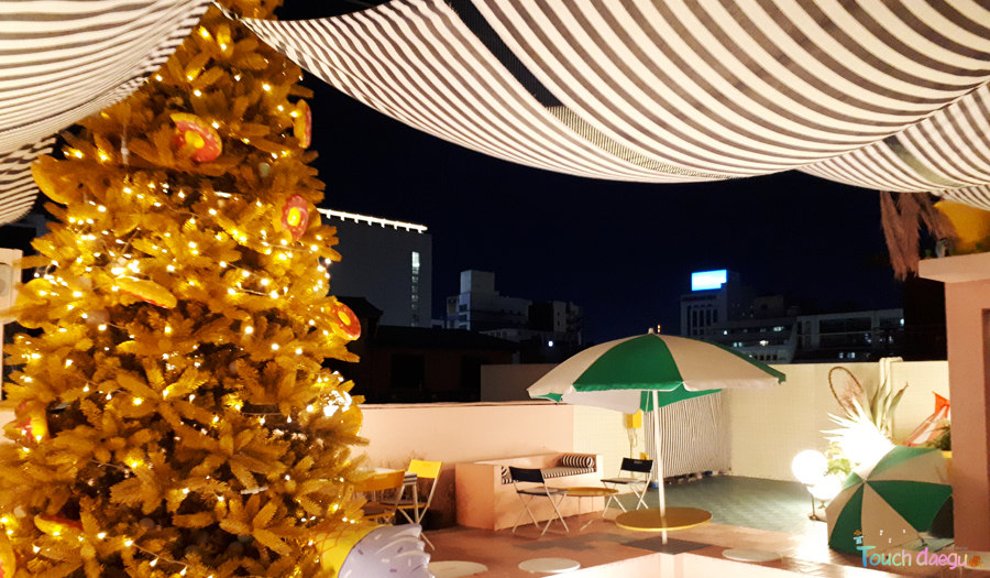 Touch Daegu Coffee City Daegu The Best Rooftop Cafes In Downtown