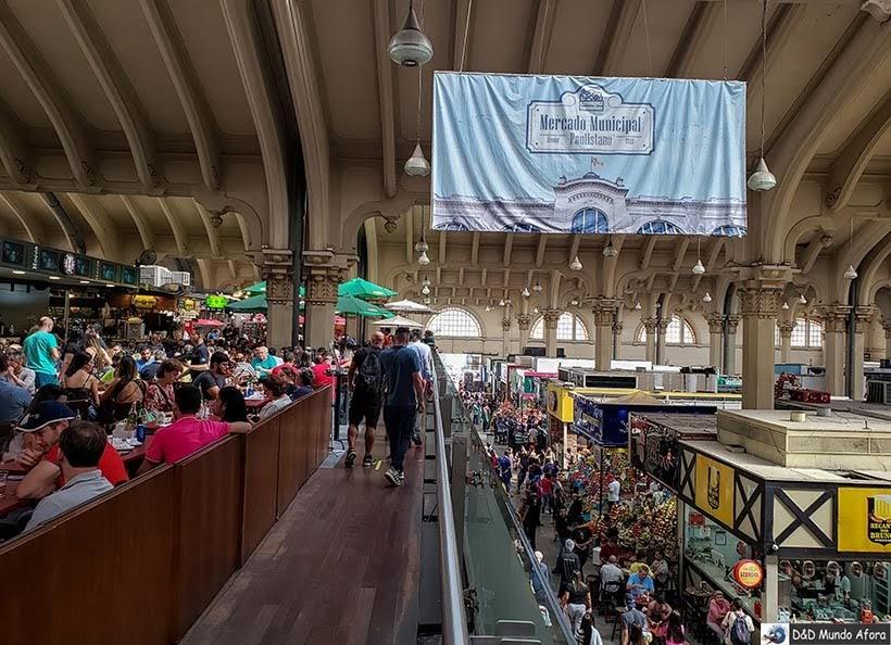 Os dois andares do Mercadão - Mercado Municipal de de São Paulo: o que fazer
