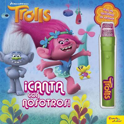 DreamWorks TROLLS  Canta con nosotros : Libro con micrófono  (Planeta Junior - 6 octubre 2016)  PELICULA | Comprar en Amazon España