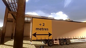 15.5 Meters Long trailer