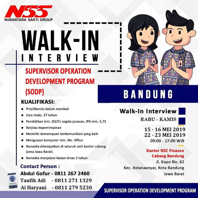 Lowongan Kerja NSS Bandung