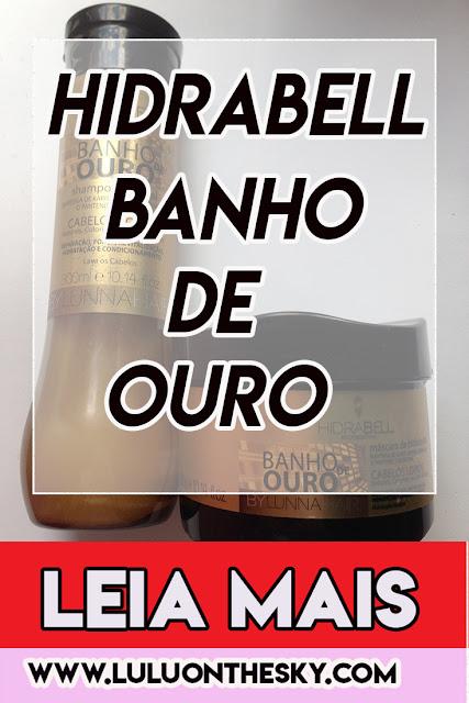 Hidrabell Banho de Ouro: Shampoo e máscara