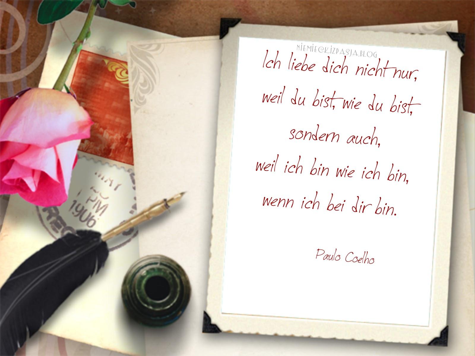 Miłosne Wierszyki Walentynkowe Cytaty O Milości Po Niemiecku
