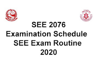 SEE Exam 2020/2076 canceled