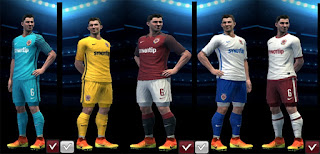 PES 2013 Sparta Prague 2016-2017 Full Kits By Antonelli