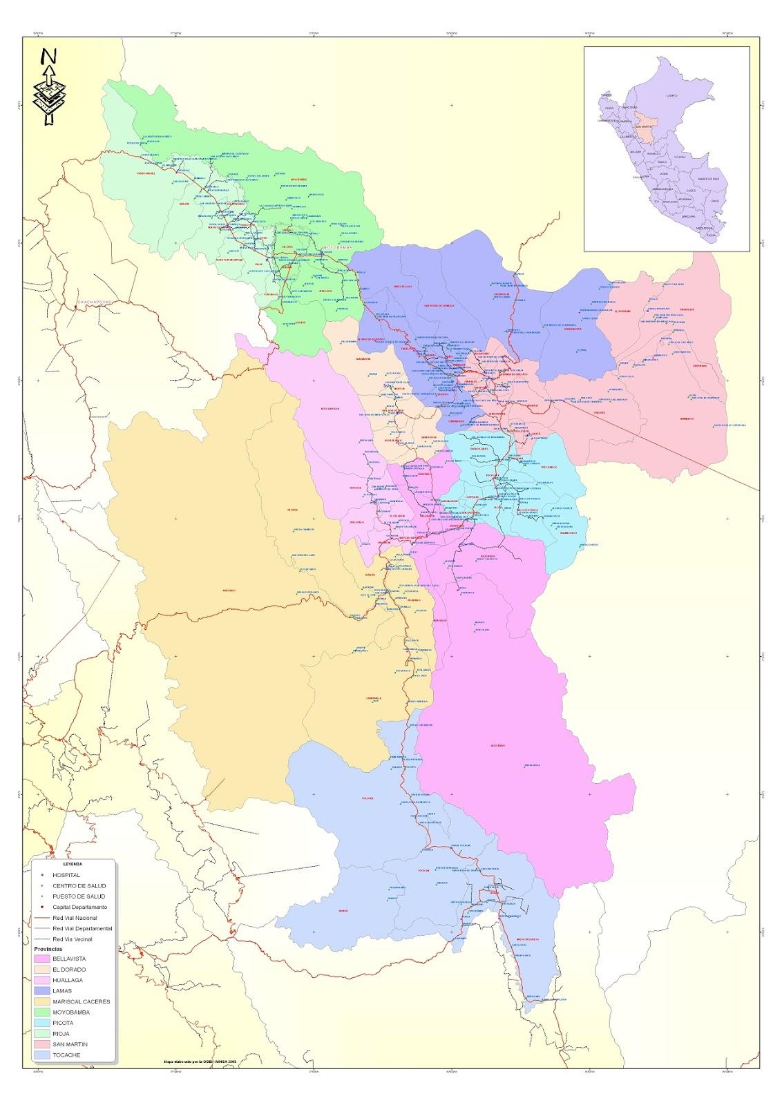 Informacion De La Region San Martin