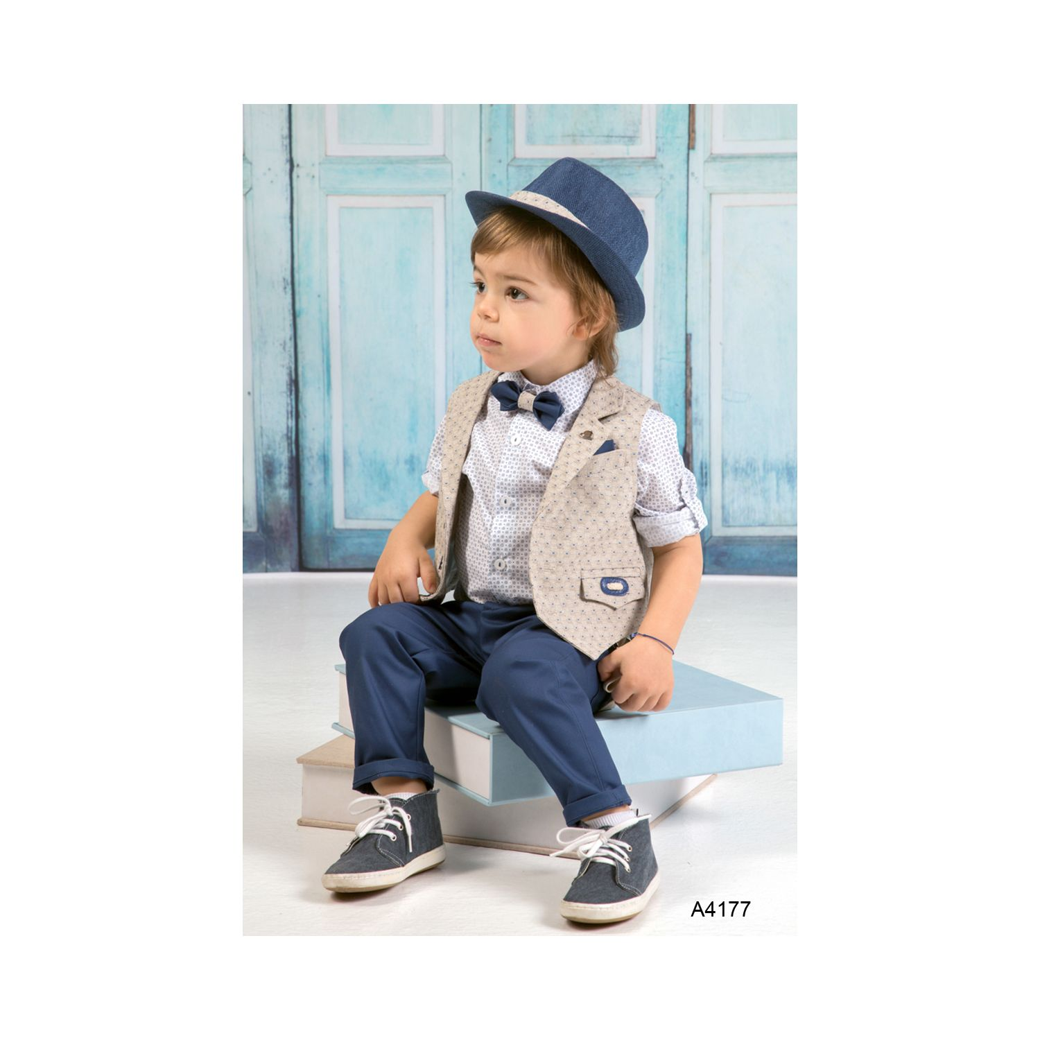 Greek baptism clothes for boys A4177