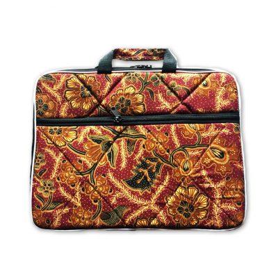 420e7370a3d Grosir Tas Laptop Murah Motif Batik Tas Laptop Murah Motif Batik ini  didesign elegant dan menggunakan bahan batik dengan corak yang khas sebagai  bahan baku ...