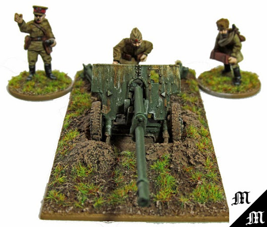 Eye Candy - Bolt Action - Soviet Infantry and Gun plus an Announcement!