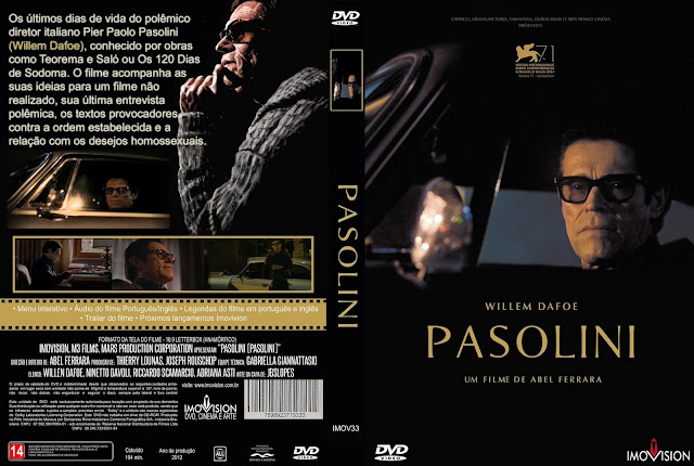 Capa DVD Pasolini
