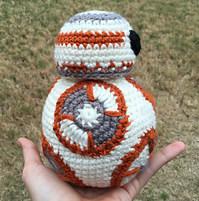 2000 Free Amigurumi Patterns Bb 8 Star Wars Crochet Pattern