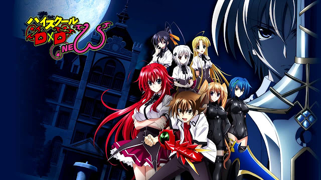 High School DxD Season 2 New Sub Indo