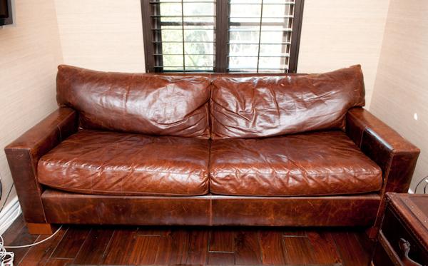 Beau Maxwell Leather Sofa Rh Best 2017