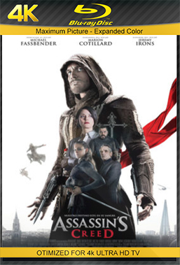 Assassin's Creed (2017) BluRay Rip 4K 2160p 5.1 Torrent Dual Áudio