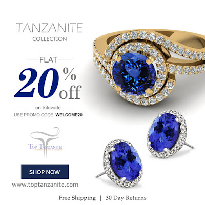 tanzanite jewelry for sale