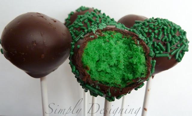 Pops+02 Cake Pops: St. Patrick's Day 6