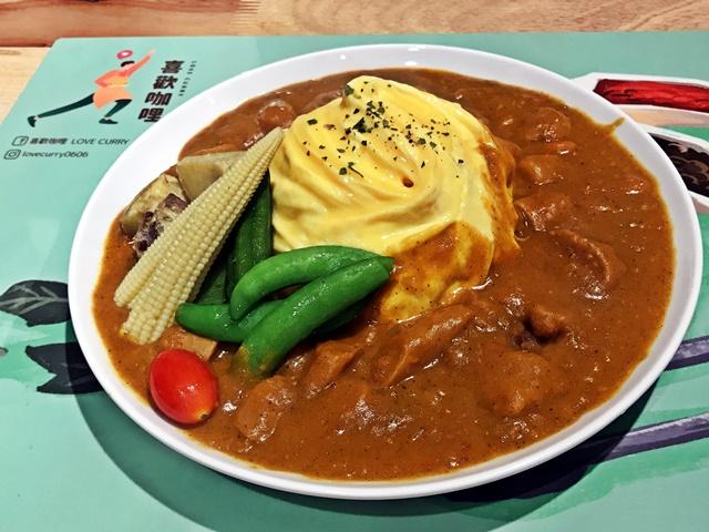 喜歡咖哩 Love Curry~新莊葷素日式咖哩飯