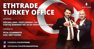 Alamat Kantor Cabang Ethtrade turki