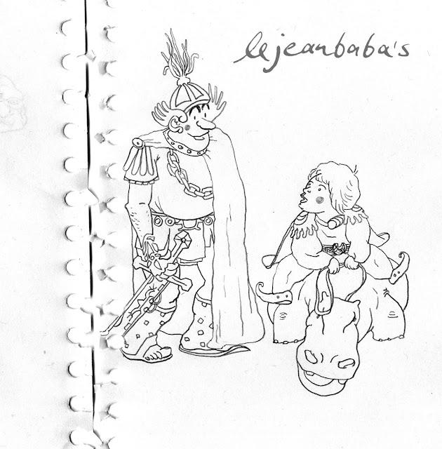 Der Ritter und der einer werden will