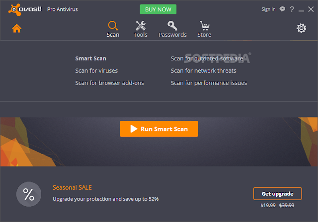 تحميل الاصدار الاخير لعملاق مكافحة الفيروسات افاست Avast Pro Antivirus 11.2.2732