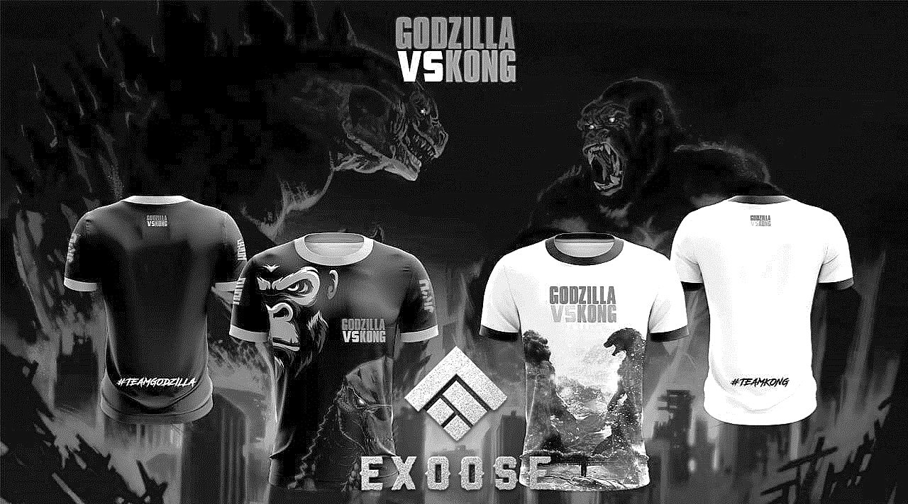 Exoose Design: Godzilla vs Kong