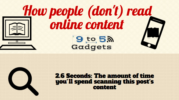 [Infographic] How people (Don't) Read Online