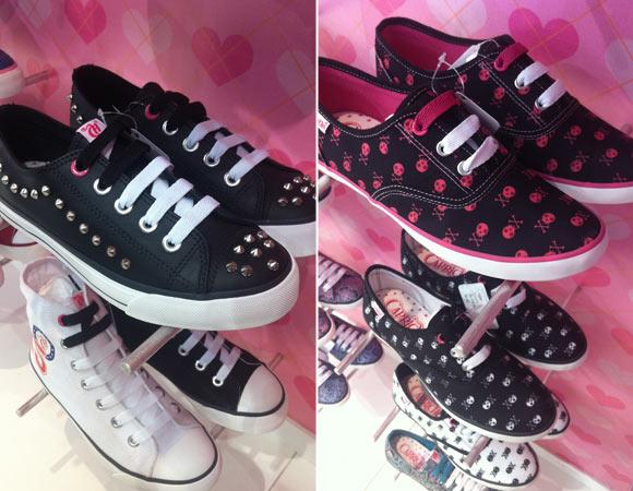 Sapatos Capricho coleção 2013
