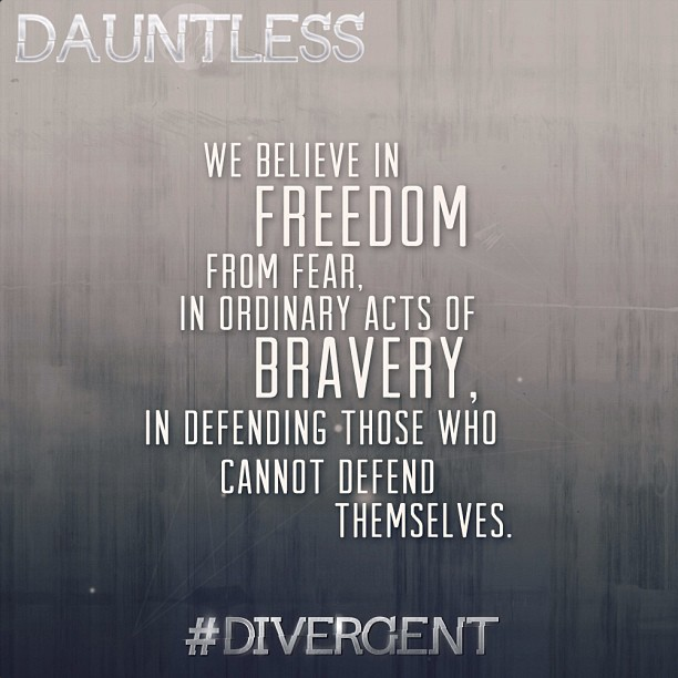Dauntless sentence