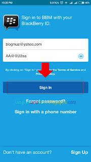 Cara Masuk BBM Dengan PIN Lama Di HP Android - Full Restore Kontak