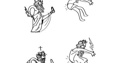 imagineanddo: Humor: Breve historia de los dioses